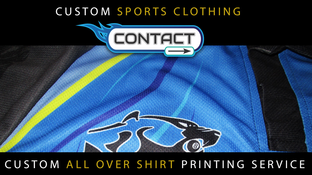 CUSTOM SPORTS CLOTHING SUBLIMATED