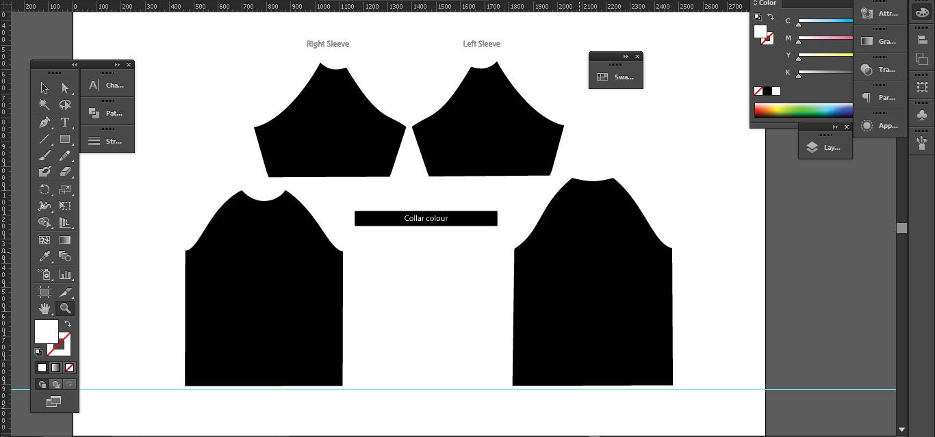 Shirt design template size -  Shirt Template Layoutfull Resolution 1366 639